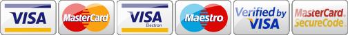 оплата цветов через VISA, MasterCard